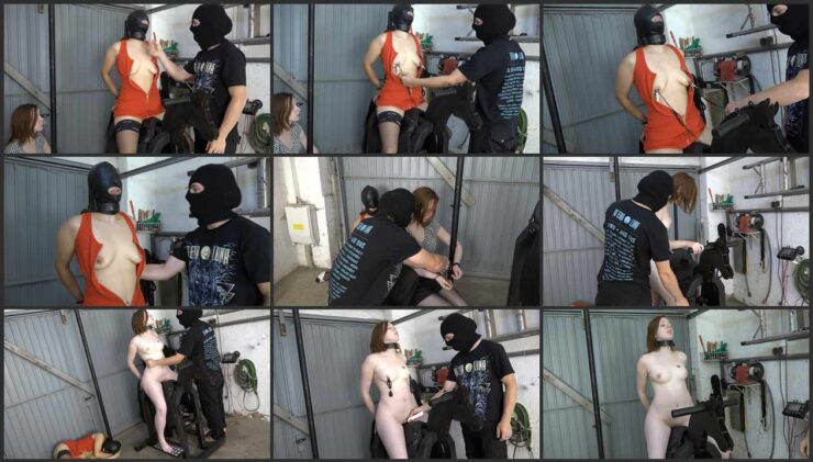 2 Sluts in Cuffs Ride the Iron Horse