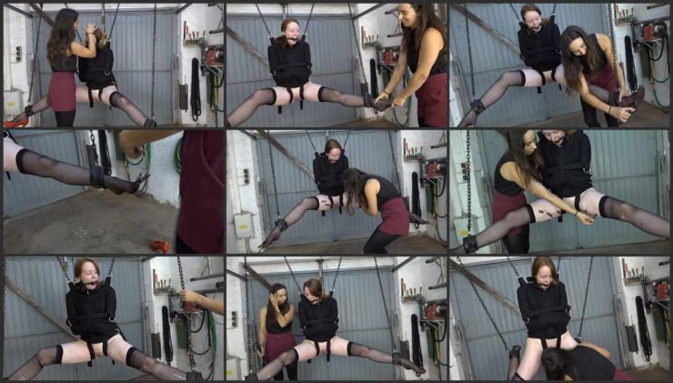 Aijana Plays with Her Slavegirl Dominatrix