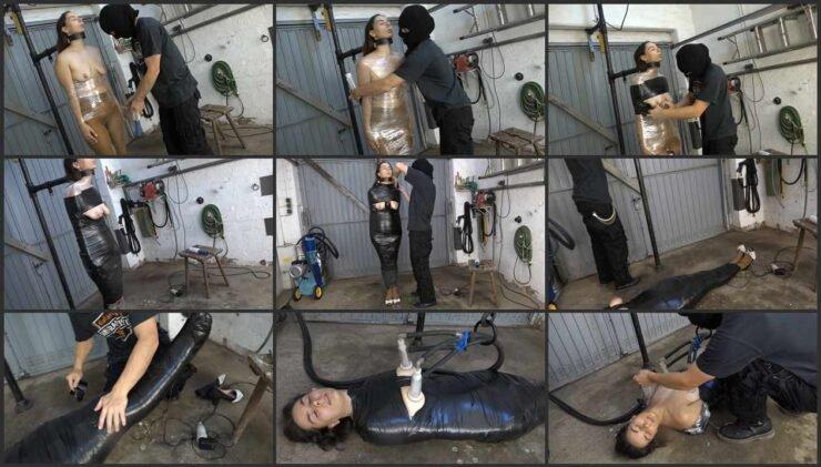 Milked Doxy Massager and Mummified