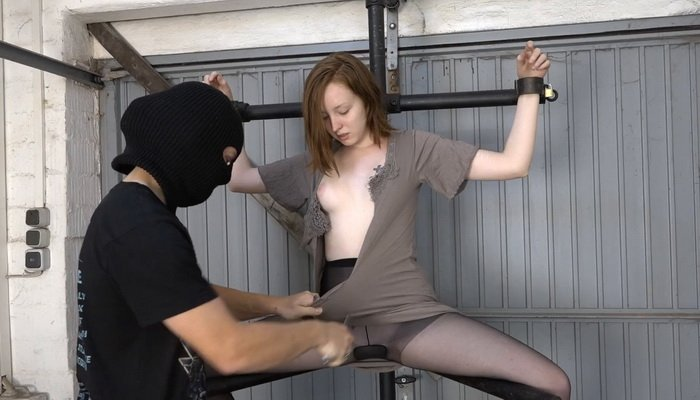 Bound, Milking in the Pillory