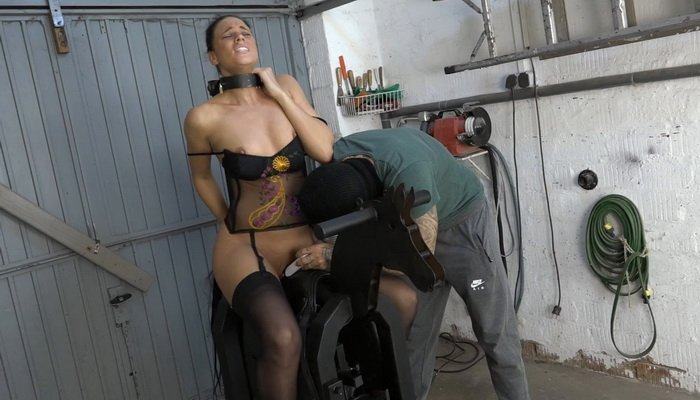Christy Ley in Orgasm on the Iron Horse