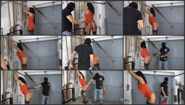 Bound & Spanking Christy Ley