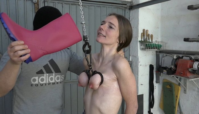 Nipple Torture Machines – The Rubber Boots Full of Piss and Milking