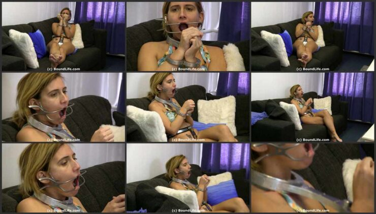 Mouth Spreader Fully Gag Trained and RigidFiddle