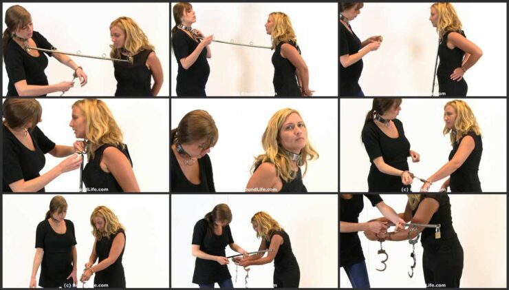 Spreader Collar Challenge and Metal Cuffs for Girls