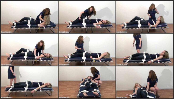 Bondage Experiment Segufix and Tickling
