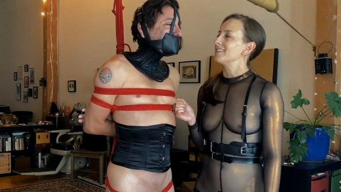 Punishment Ballet Boot and Strict BondageTorment