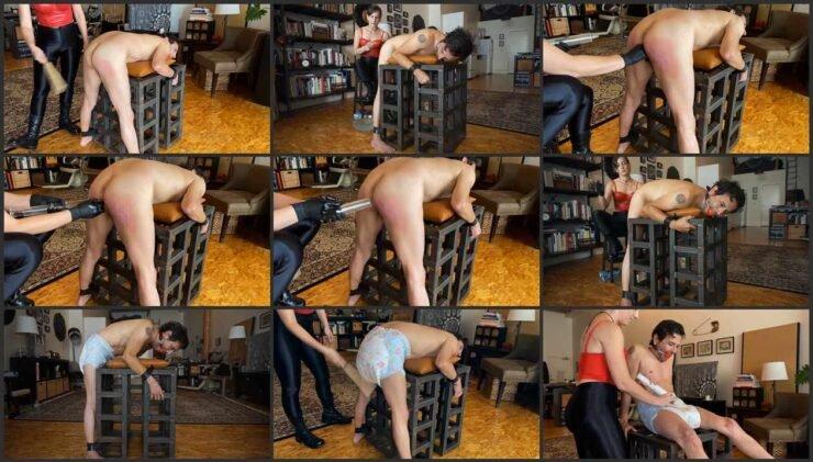 Enema Paddling and Spanking Punishment