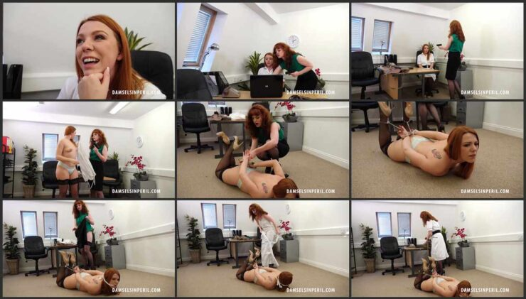 Two Redhead Nurses Quarreled at Work