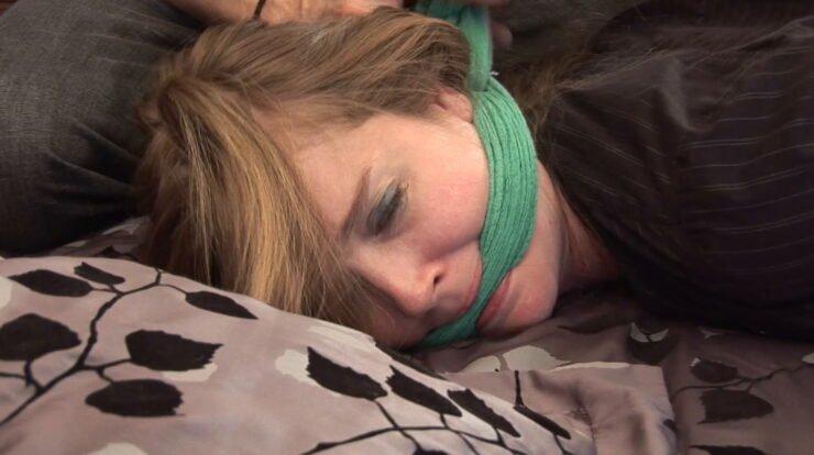 Nine star woke up after chloroform, bound in rope