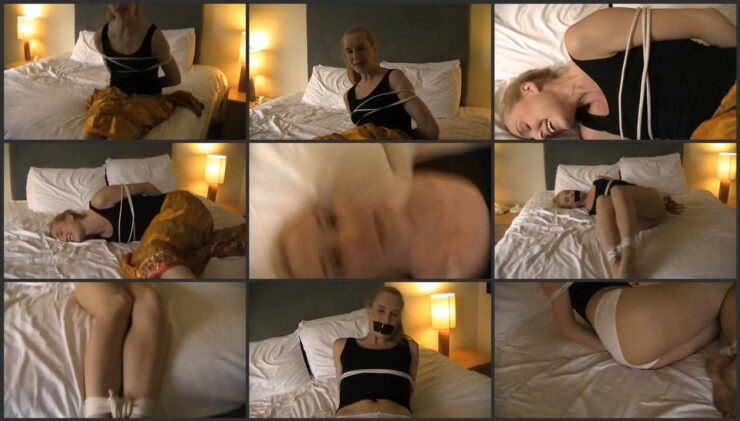 Billy's dad tied up and Gagged Ariel Anderson