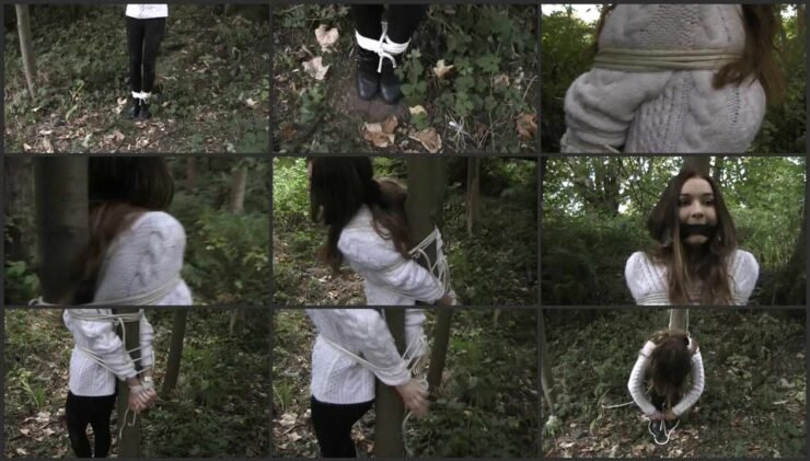 19 year old Samantha Wilson Tied to A Tree part 2