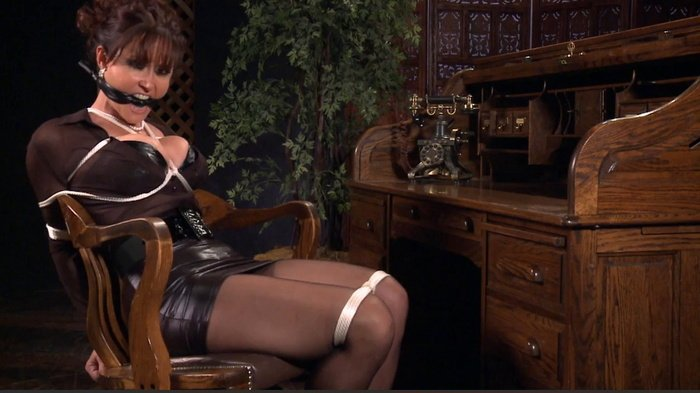 "Hot Christina attracts the attention of the boss, ""take the letter."" wmbcv-0447"