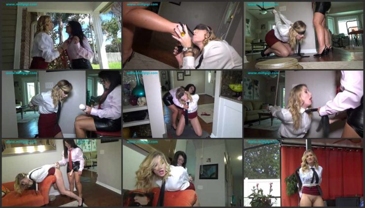 Submissive business woman first time fucked & abused