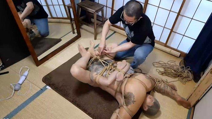 Pantyhose Encasement Ass to Face Rope Bondage – Kinbaku Work X HBC