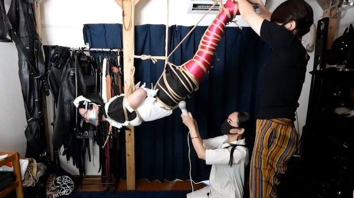Japanese Maid Hinako would unleash horrifying screams