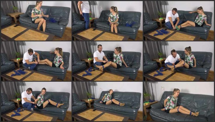 Violet is tied up by experienced gigolo ordered through agency. Episode 1