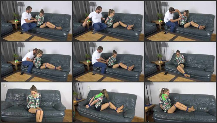 Violet is tied up by experienced gigolo ordered through agency. Episode 2