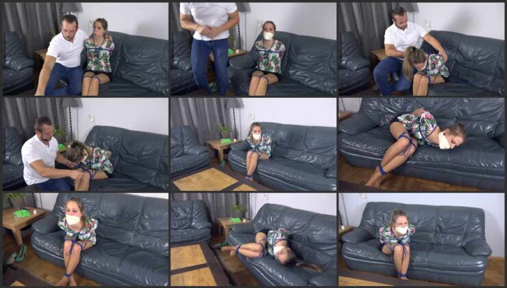 Violet is tied up by experienced gigolo ordered through agency. Episode 3