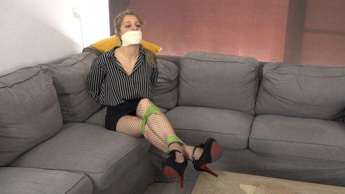 Violet – slave girl for game of bondage. Episode 2