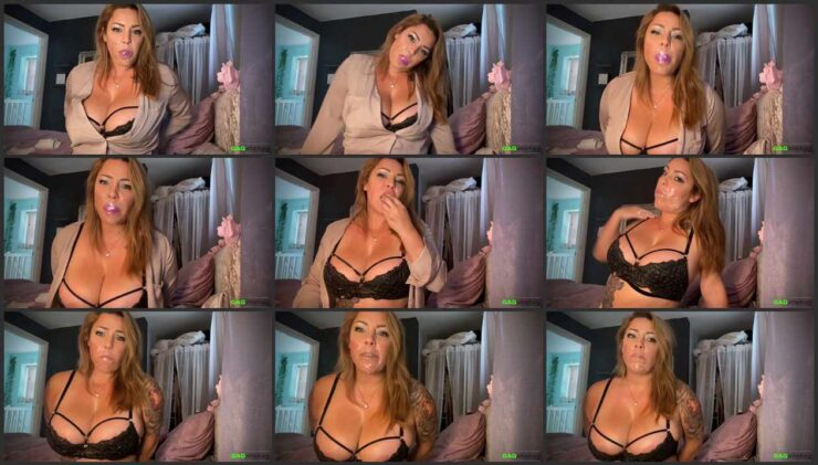 Self Gag 2 with busty Rara. 2 Gag Video in one