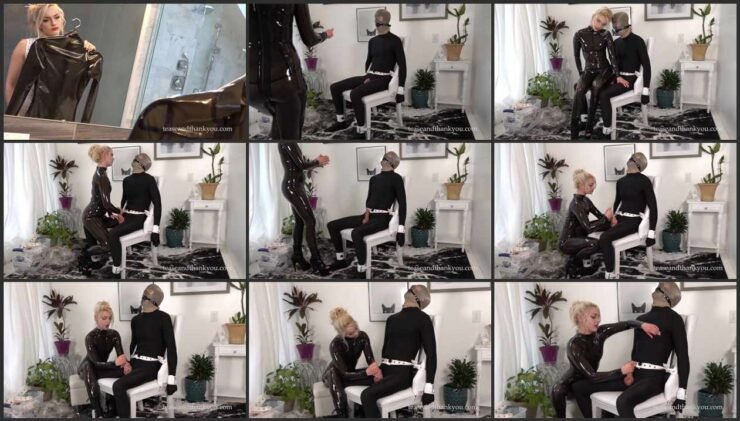Punishment from Mandy – bound and ruined orgasm without the pleasure