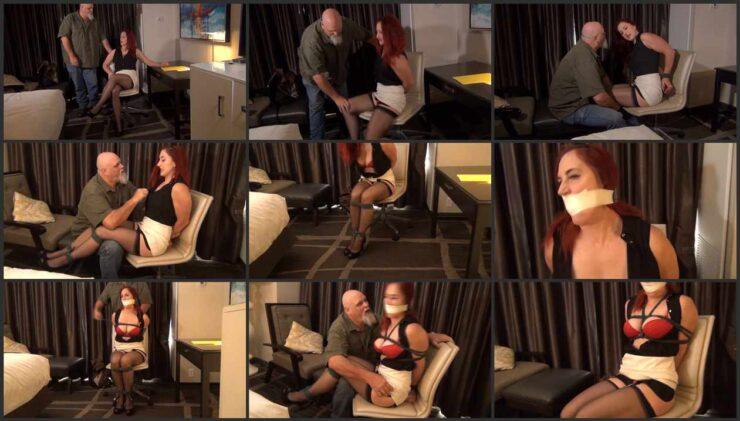 Revenge of fired Ivan on lady-boss Davina