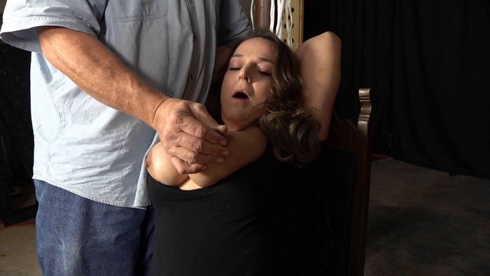 Divinity's round red ass in spanking fun