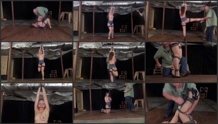 Ivan tying and manhandling Cuban Rachel's sexy littls body