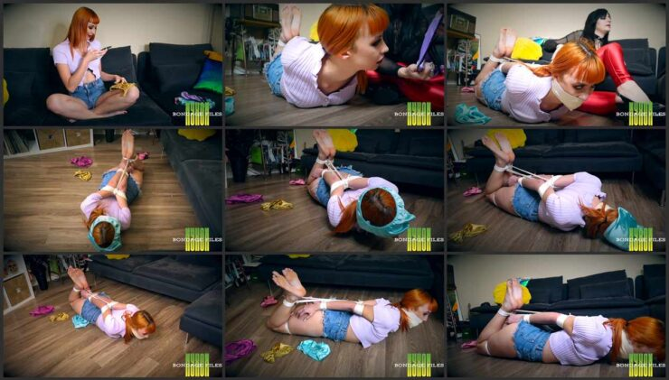 Bound Summer Punished By Her Stepmom For Selling Her Worn Panties