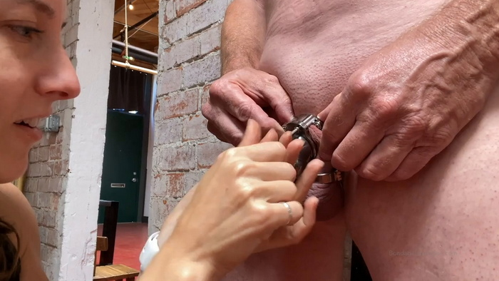 New chastity cage for Sparky