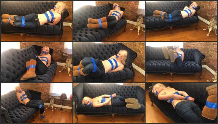 Babysitter Kody to stripped while she playing into cops and robbers