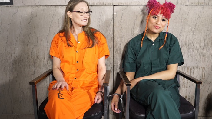 Arrest of two offenders Ophelia and Jayda Part 4