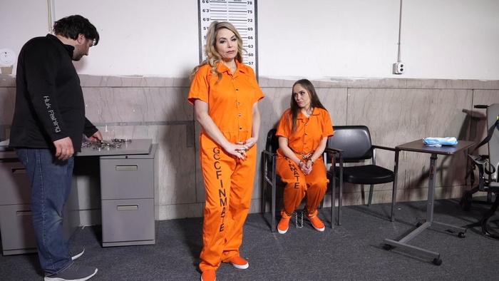 Two girlfriends JJ and Rachel fantasize about prison Part 3