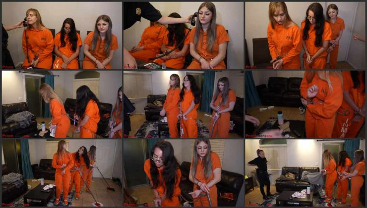 Preparation and maintenance  into court 3 new Inmates Part 3 of 3