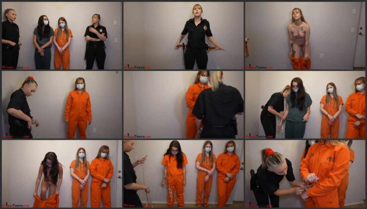 Preparation and maintenance  into court 3 new Inmates Part 2 of 3