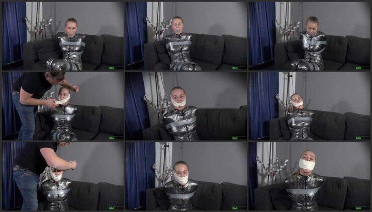 Blue sponge, 2″ and 3″ Microfoam tape for Darina – 3 Gag Video
