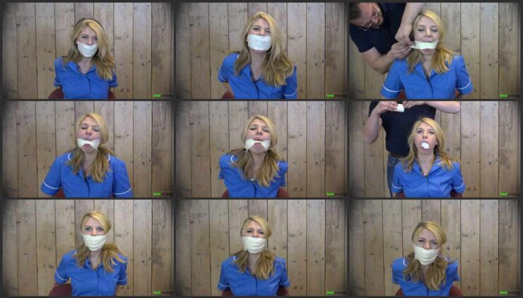 Nurse Lolly Anne in 3 Gag video