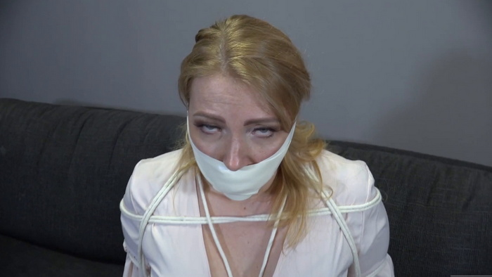 Microfoam tape and black ankle sock – three gag video with Mila