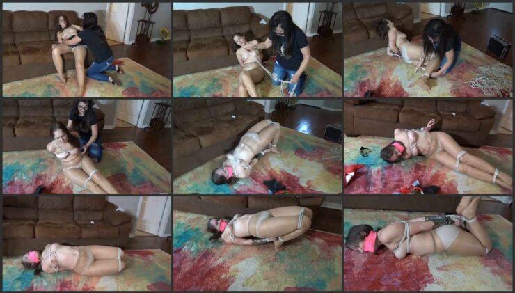 Rachel Adams Surprised and Ambushed Again Tied Up
