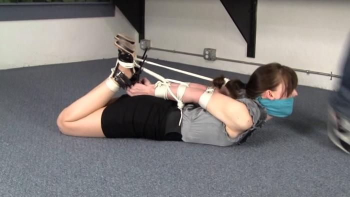 Test for flexibility and endurance of the new secretary AJ