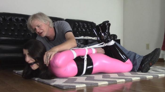Dance audition Arielle turns into bondage treatment
