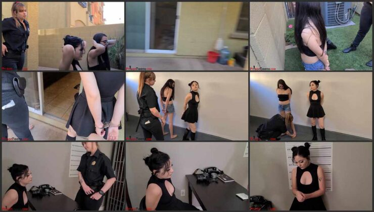 Amanda and Persephone arrested for possession of banned substances Part 1