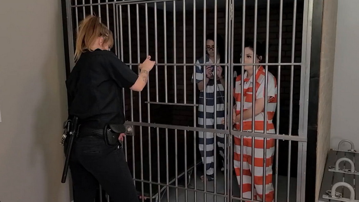 Amanda and Persephone arrested for possession of banned substances Part 3
