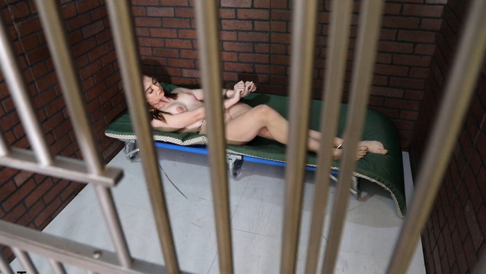 Sophia arrested and put in a cell Part 2