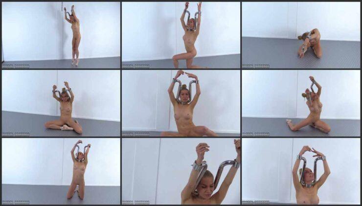 Submissive Ella in the Ballet Stocks. MB632