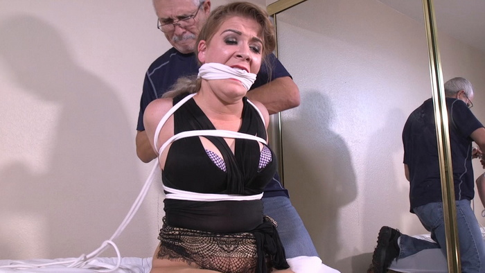 Whitney woke up bound, immobilized and gagged