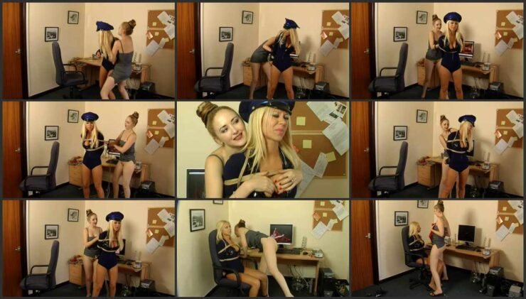 Police Officer Petra Tied And Humiliated For Video Selling Online Part 1