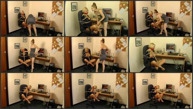 Police Officer Petra Tied And Humiliated For Video Selling Online Part 2