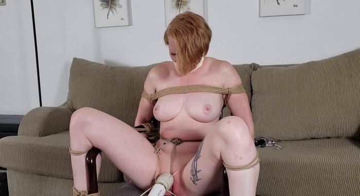 Izzebella bound and endless agonizing orgasms